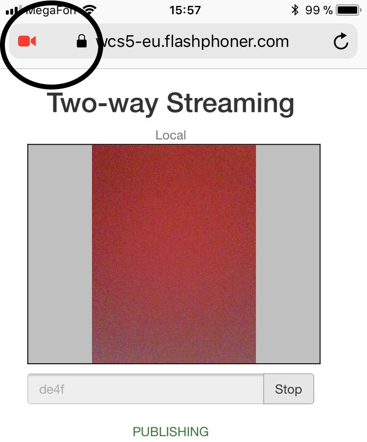 iOS Safari 11 теперь умеет WebRTC - 11