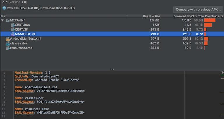 Играем в APK-гольф. Уменьшение размера файлов Android APK на 99,9% - 4
