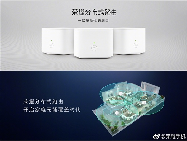 Обновленный Honor Router состоит из трех устройства