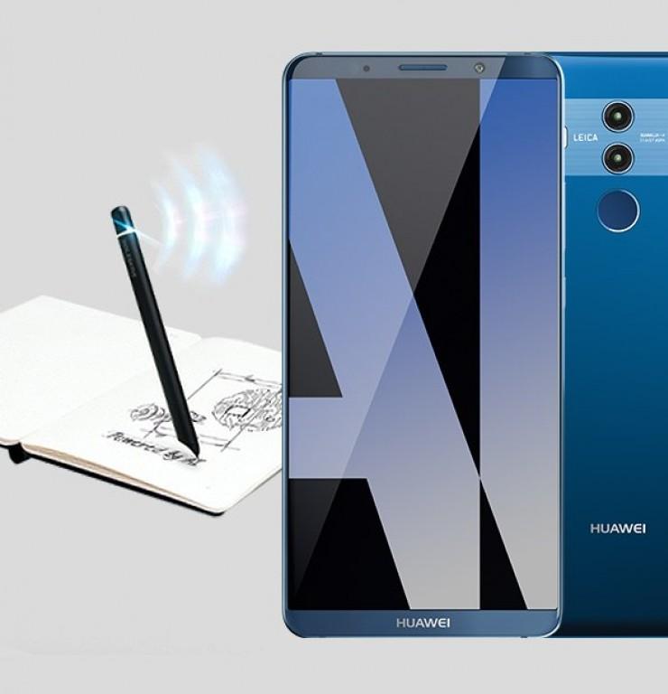 Смартфон Huawei Mate 10 Pro может комплектоваться умной ручкой