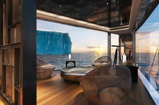 На выставке Monaco Yacht Show 2017 представили 120-метровую суперяхту