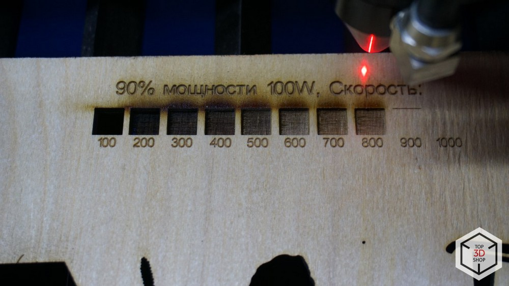 Обзор лазерного гравера LaserSolid 690 - 37
