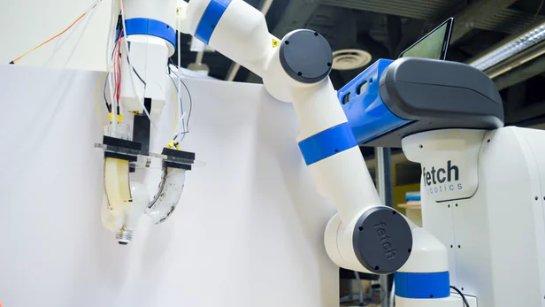 Появились роботы, которые ощущают форму вещей