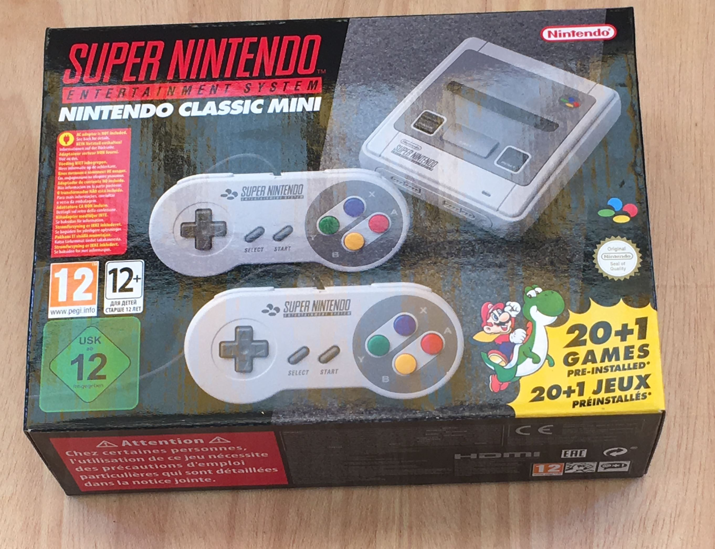 SNES Classic MinI — обзор новой «ретро» приставки от Nintendo - 1
