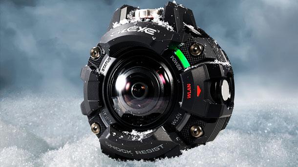 Экшн-камера Casio GZE-1 выглядит очень необычно