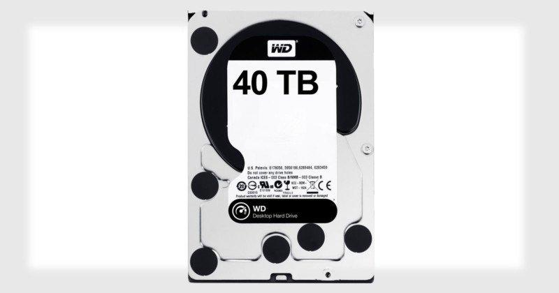 Новая технология Western Digital позволяет создавать HDD с объемом 40 ТБ и более - 1