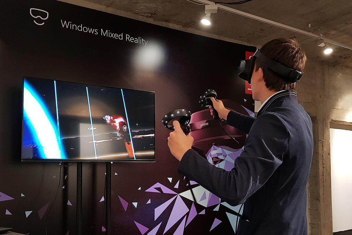 Lenovo Explorer и Microsoft Mixed Reality: виртуальная реальность для всех - 11