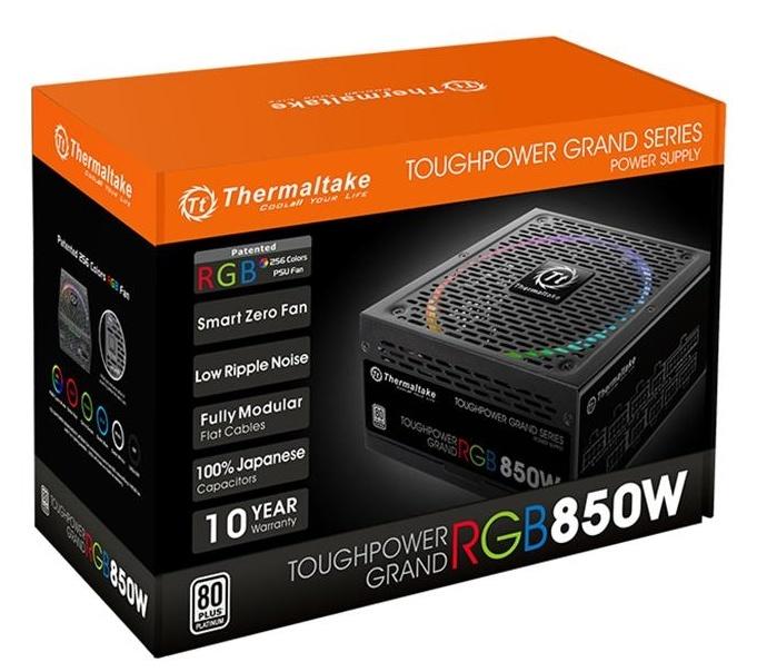 Thermaltake представила блоки питания Toughpower Grand RGB Platinum