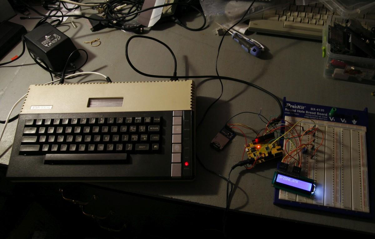 Эмулятор дисковода для Atari на Arduino - 3