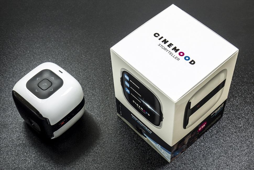 Карманный проектор Cinemood Storyteller: детский кинотеатр на ладони - 2