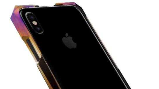 Титановый защитный корпус для iPhone X стоит дороже, чем сам телефон