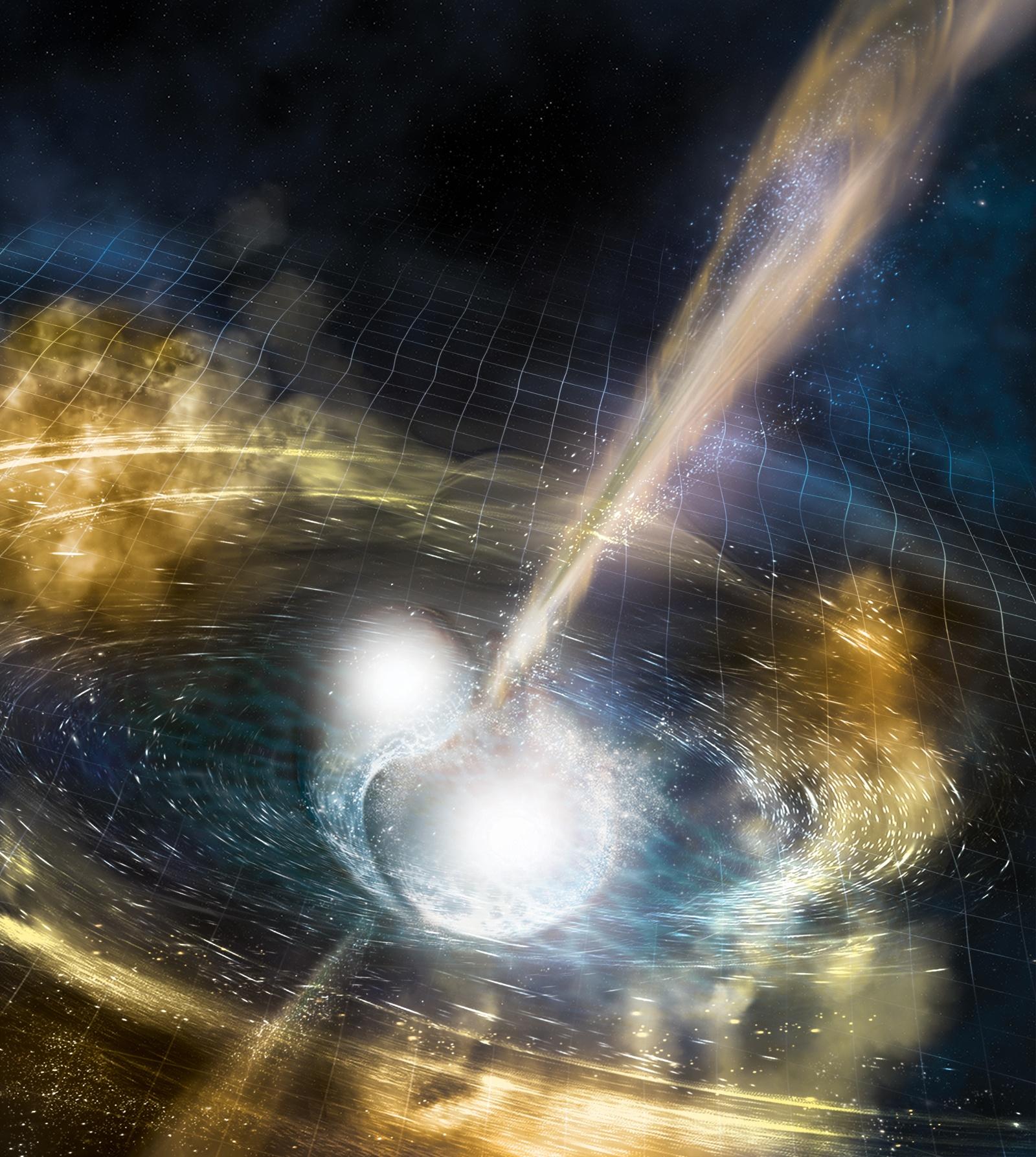 Впервые зарегистрированы гравитационные волны от слияния нейтронных звезд — и свет от них - 1