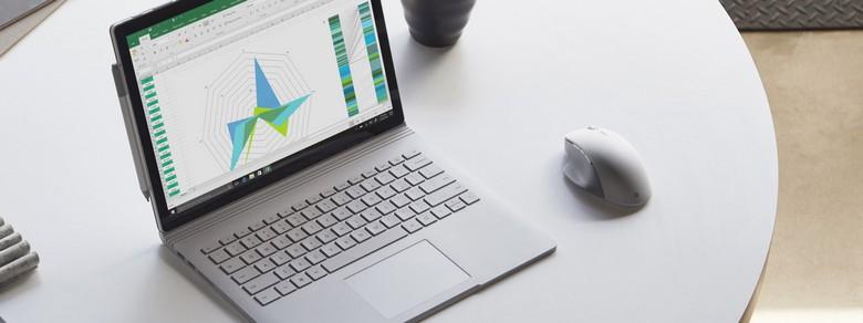 Microsoft представила мышку Surface Precision Mouse