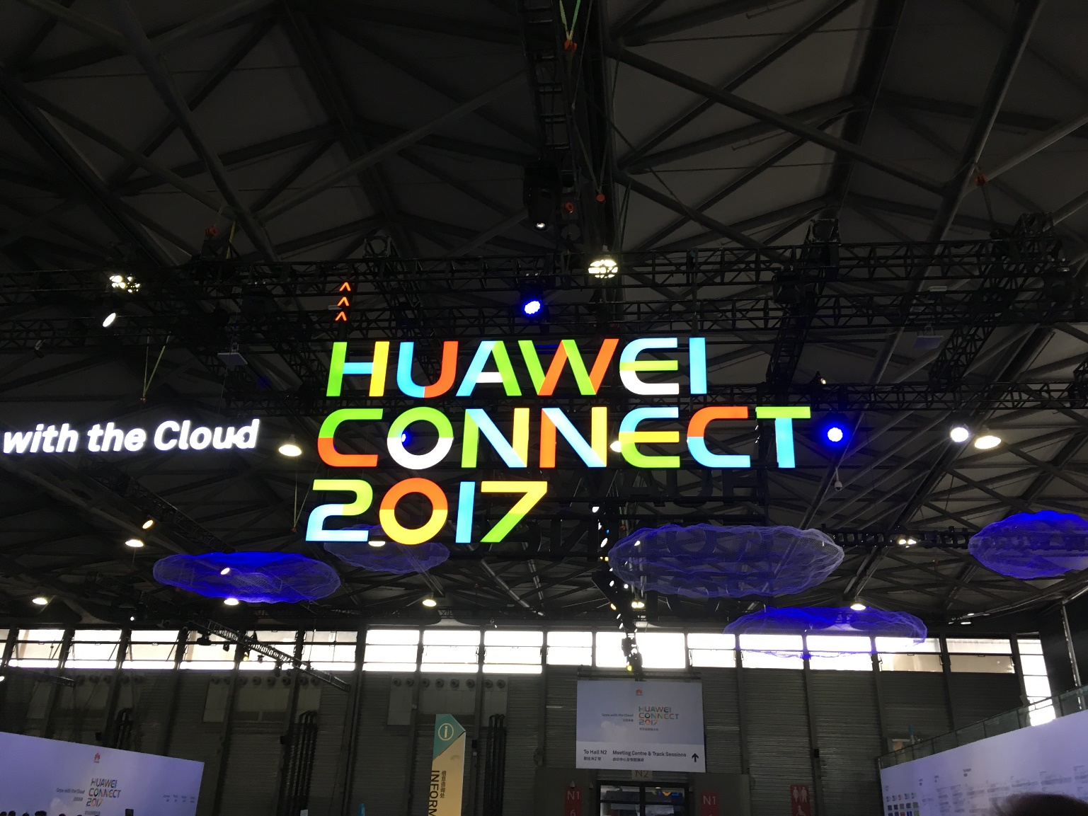 Китай — цифровая держава. Впечатления от Huawei Connect 2017 - 1