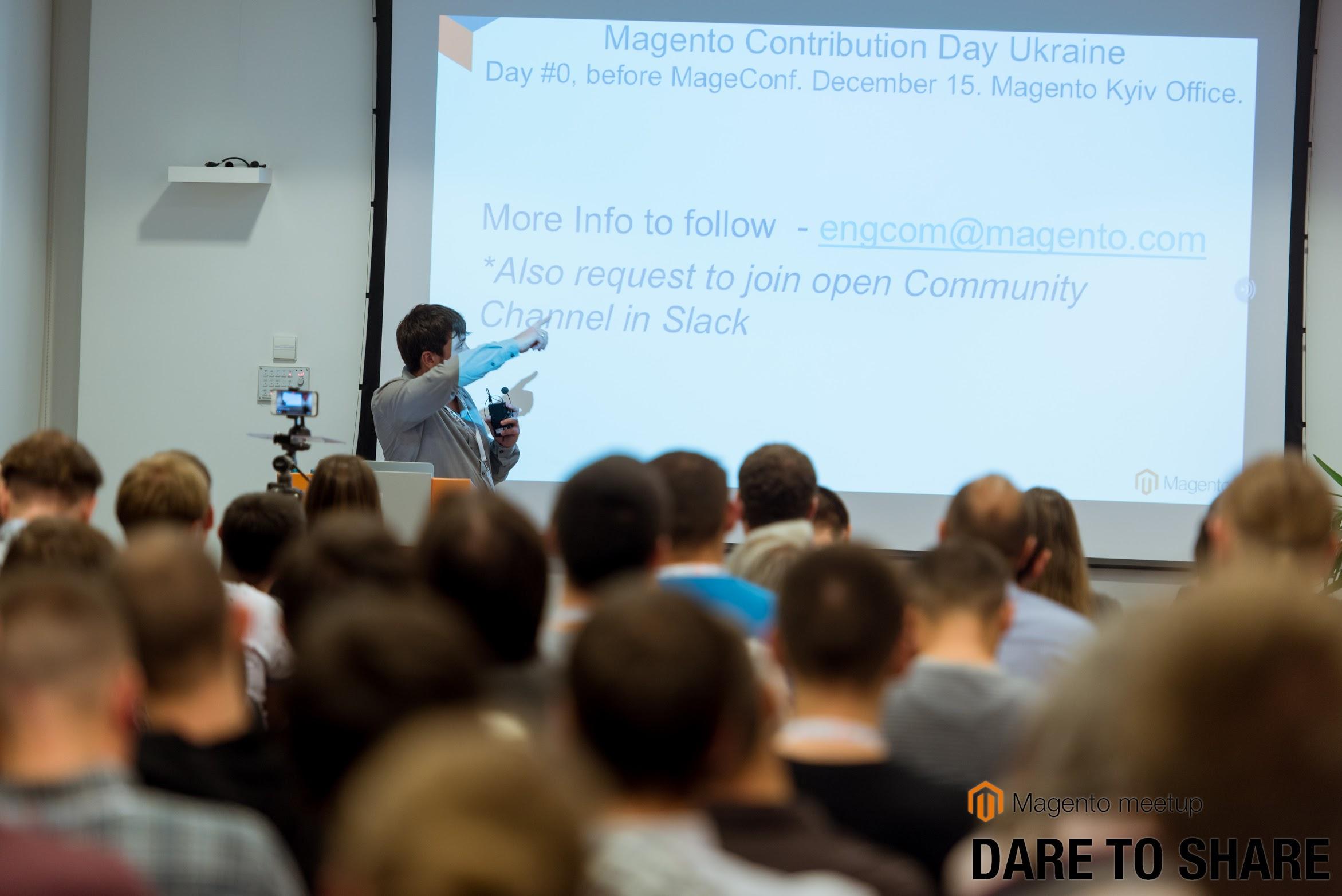 Magento Dare to Share. Осень — сезон Magento митапов - 9