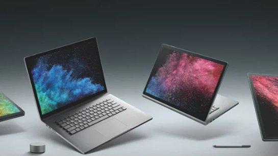 Microsoft предлагеает Surface Book 2 для творческой работы и игр VR