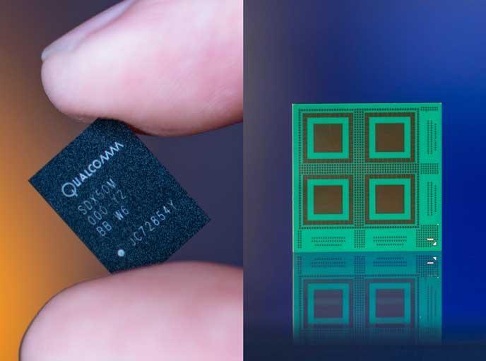Qualcomm успешно испытала модем Snapdragon X50 5G