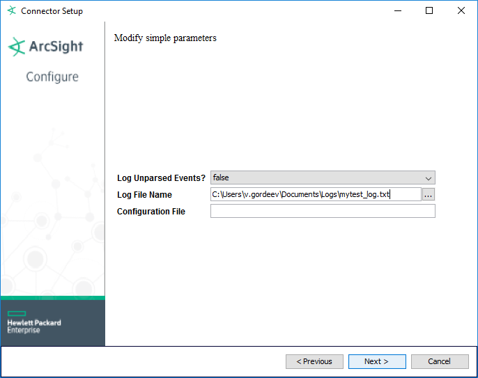 Пишем Arcsight FlexConnector. Log File - 3