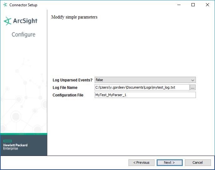 Пишем Arcsight FlexConnector. Log File - 9