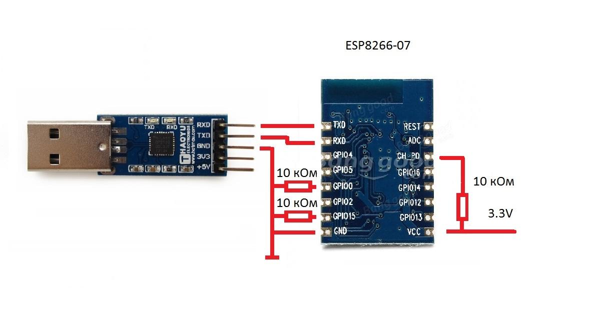 Программирование и обмен данными с «ARDUINO» по WI-FI посредством ESP8266 Часть Вторая - 3