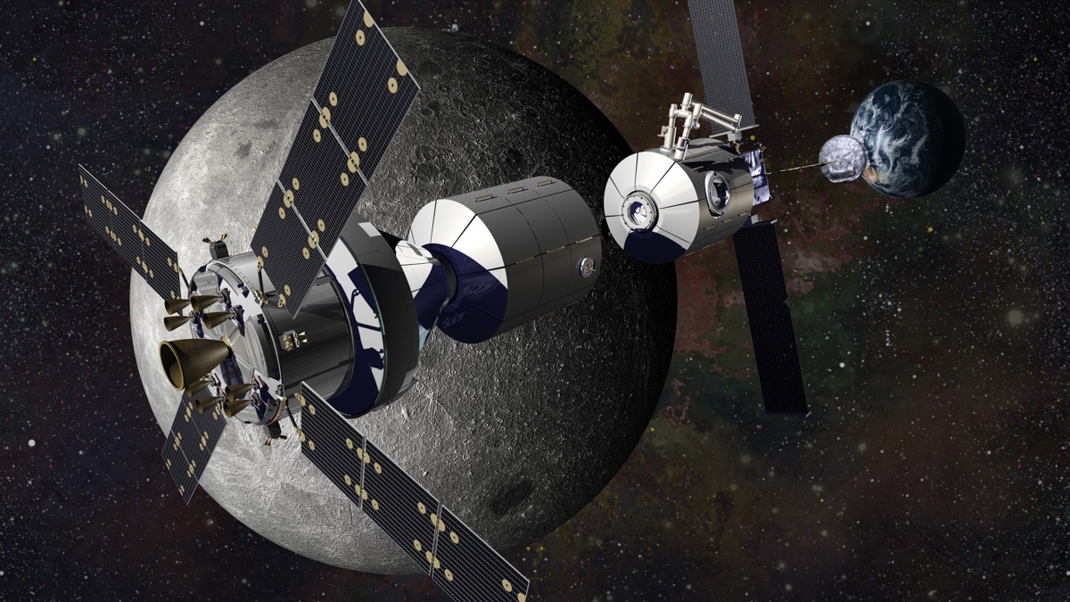 «Роскосмосу» доверили строительство шлюзового модуля на Международной лунной орбитальной станции - 1