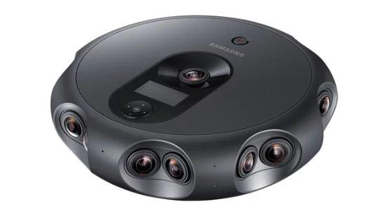 Новую VR-камеру Samsung создали для настоящих профессионалов