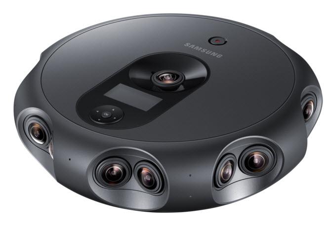 Представлена камера Samsung 360 Round, оснащенная 17 объективами