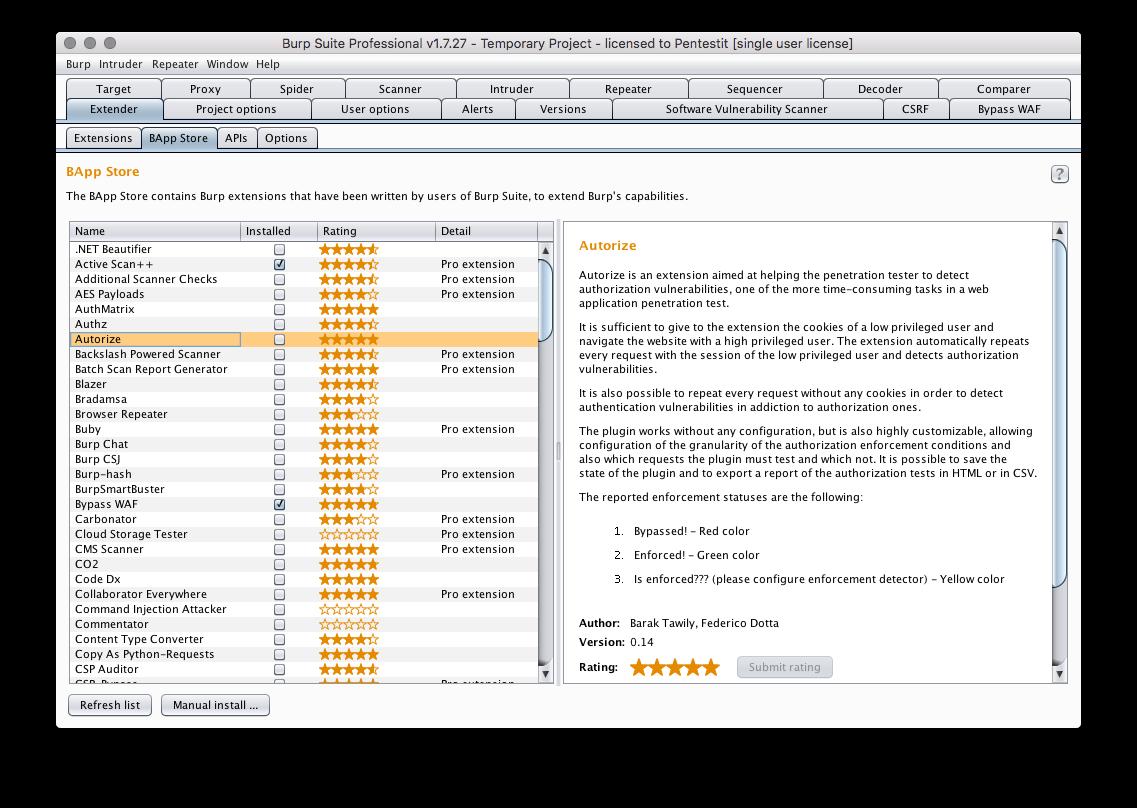 Расширения Burp Suite для эффективного тестирования веб-приложений - 2