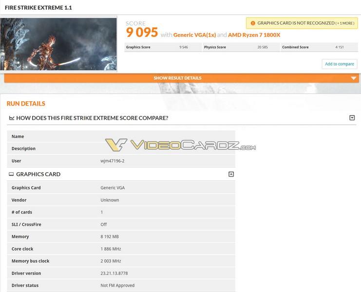 GeForce GTX 1070 Ti засветилась в 3DMark