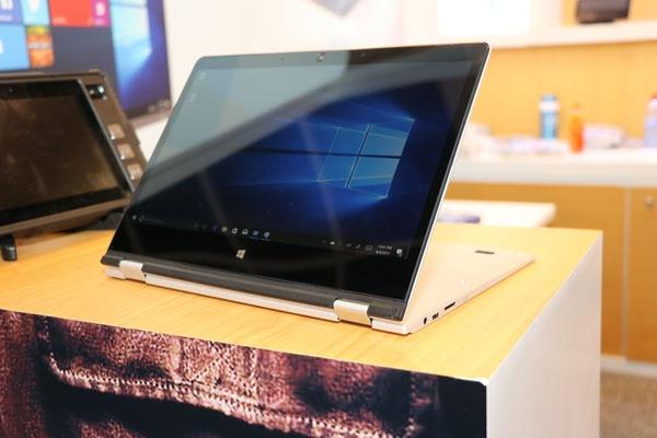Ноутбук-трансформер на базе процессора Intel Gemini Lake