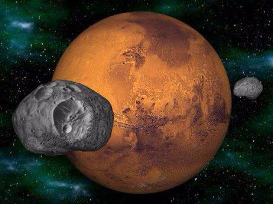 В НАСА считают, что строить базы на марсианских спутниках не стоит