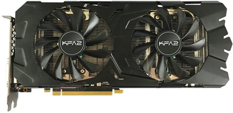 В сети уже появились изображения 3D-карты KFA2 GTX 1070 Ti EX