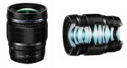 Объективы Olympus M.Zuiko Digital 17mm F1.2 Pro и 45mm F1.2 Pro