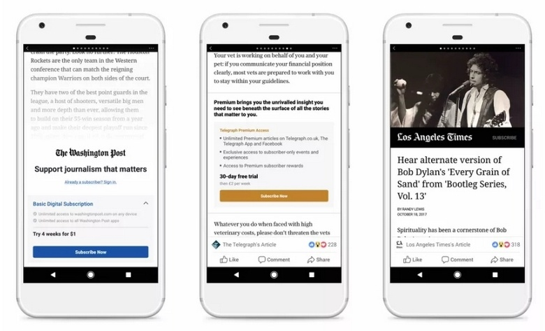 Facebook и Apple не могут договориться касательно внедрения платной подписки