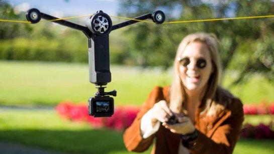 Cистема кабельных камер пройдет там, где не могут беспилотники