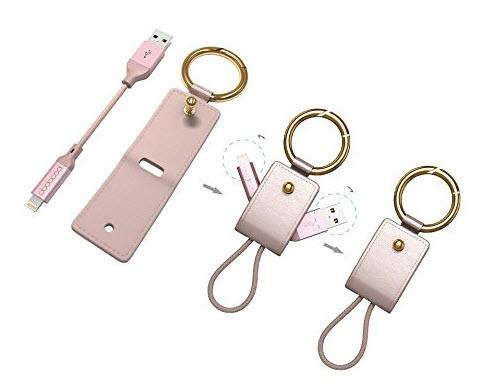 Dodocool предлагает кабель для зарядки iPhone и iPad в форме брелока для ключей