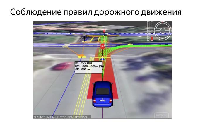 Алгоритмы построения пути для беспилотного автомобиля. Лекция Яндекса - 17