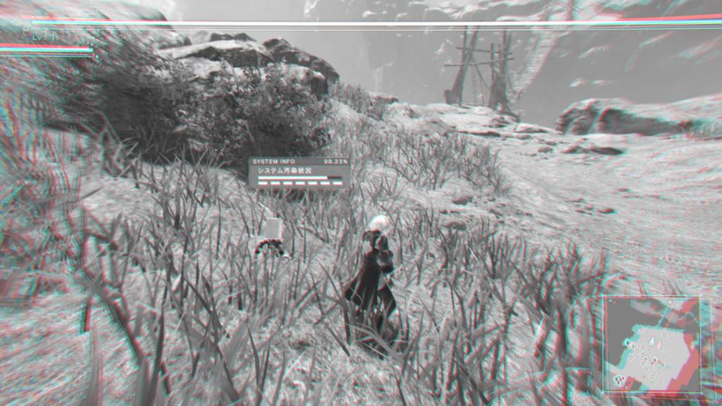 Дизайн UI в играх на примере NieR:Automata - 16