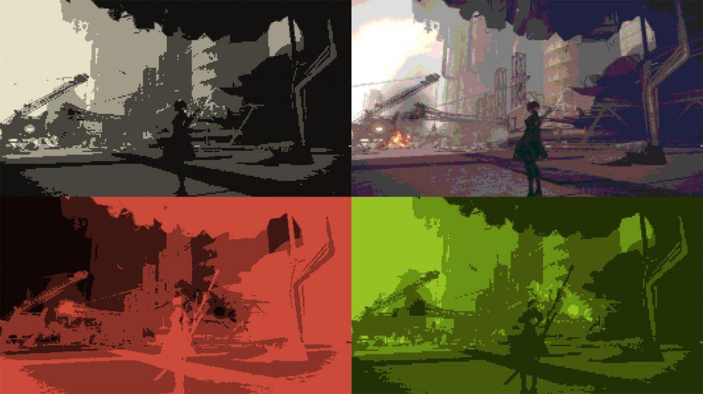 Дизайн UI в играх на примере NieR:Automata - 18