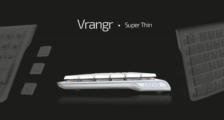 В клавиатуре Drevo Vrangr используются заказные переключатели Kailh Blue
