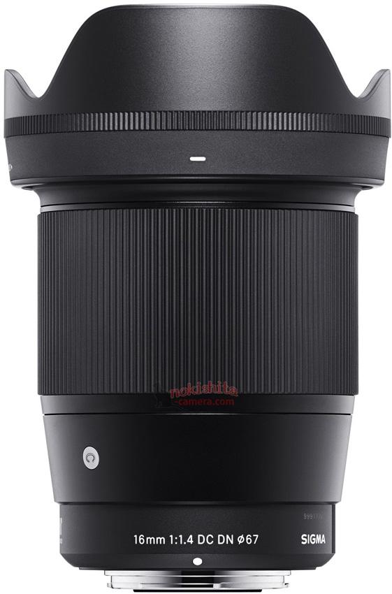 Анонс объектива Sigma 16mm F1.4 DC DN | Contemporary ожидается в ближайшее время