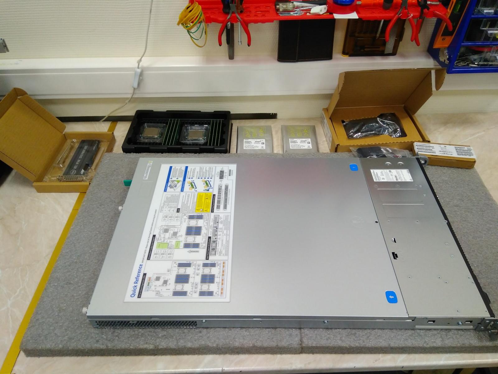 Покупка современного сервера Intel c NVMe P4800X - 2