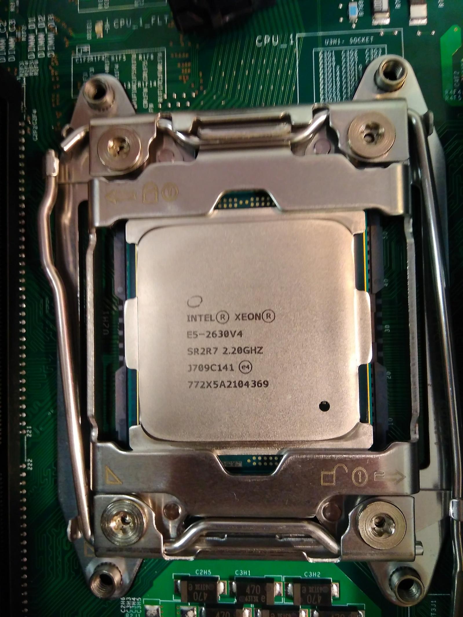 Покупка современного сервера Intel c NVMe P4800X - 6