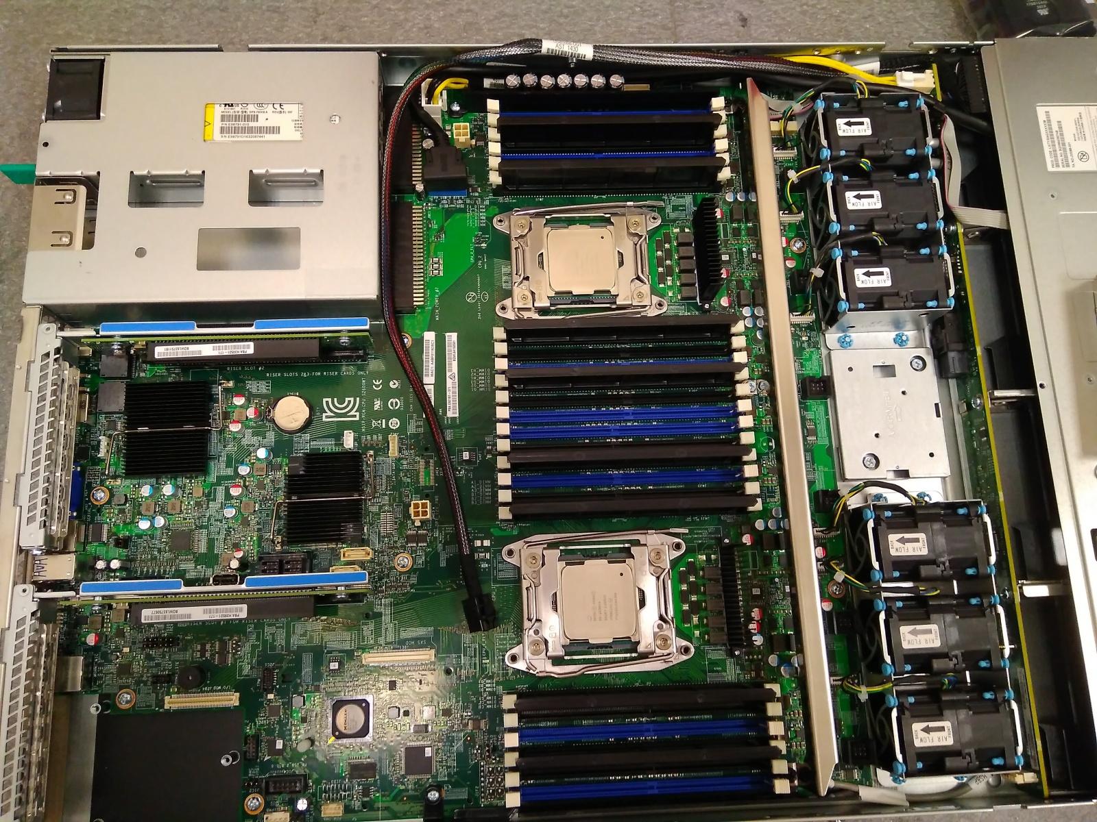Покупка современного сервера Intel c NVMe P4800X - 7