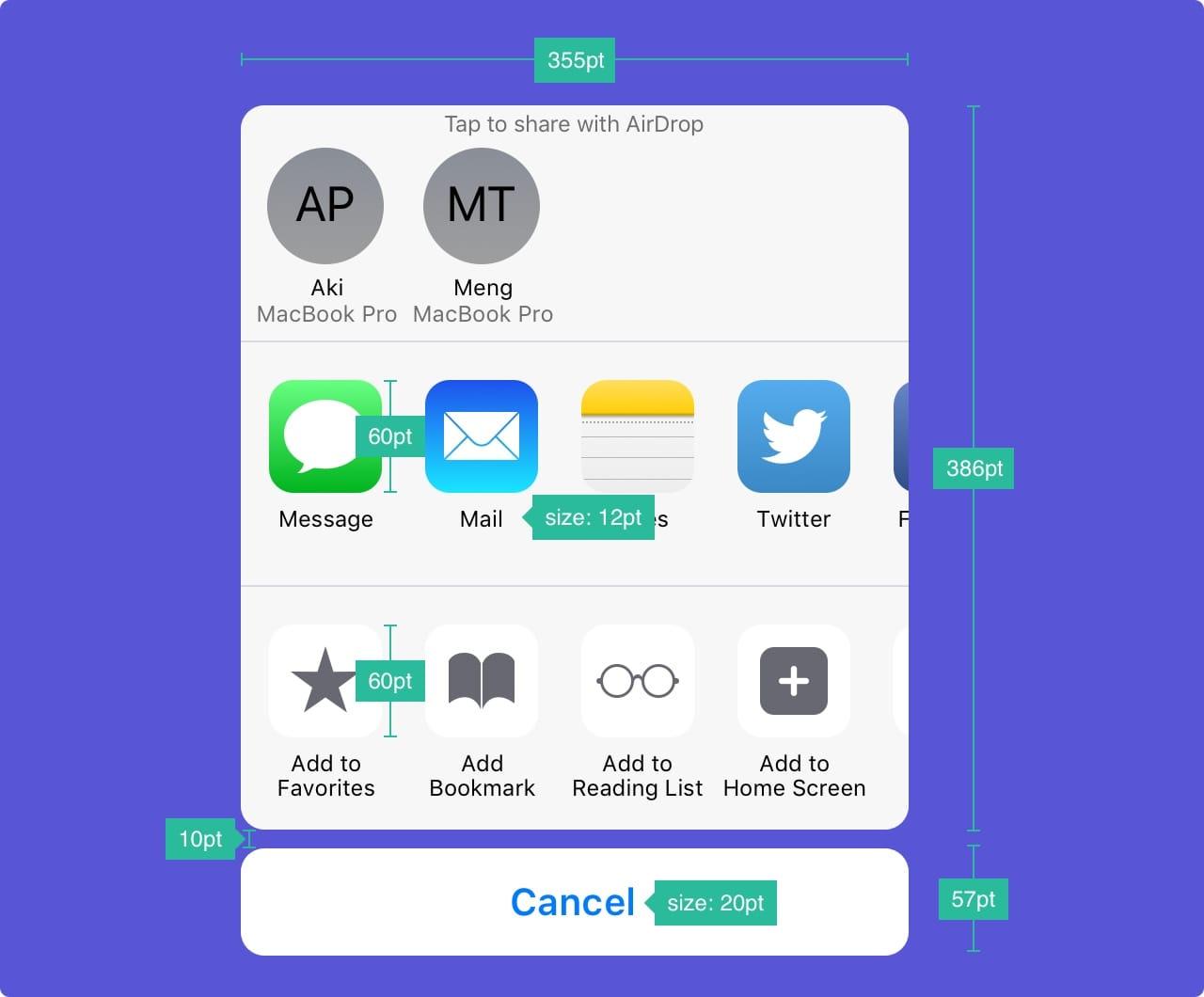 Дизайн под iPhone X. Гайдлайны для iOS 11 - 32