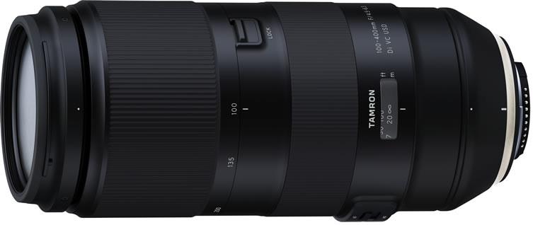 Анонс объектива Tamron 100-400mm f/4.5-6.3 Di VC USD (Model A035) ожидается 26 октября