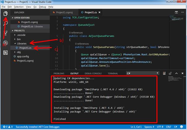 Программирование для 3CX на C#: используем 3CX Call Control