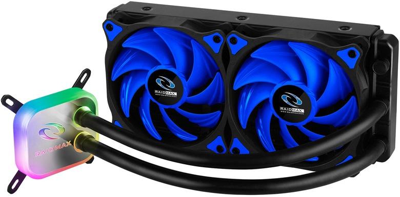 Системы жидкостного охлаждения Raidmax Cobra 120 RGB и Cobra 240 RGB поддерживают почти все современные процессоры