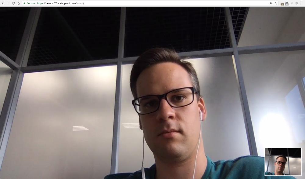 Видео-звонки в видеоконференцию Zoom с веб страниц - 2