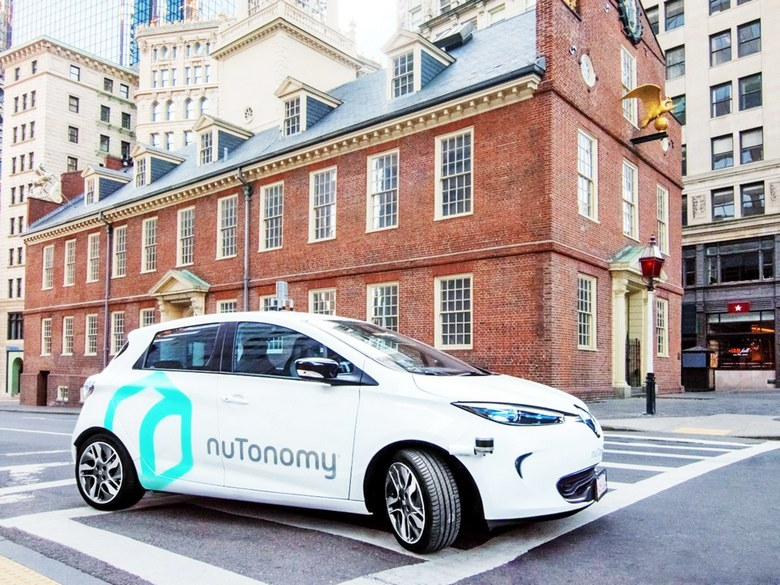 Компания nuTonomy становится частью Delphi Automotive